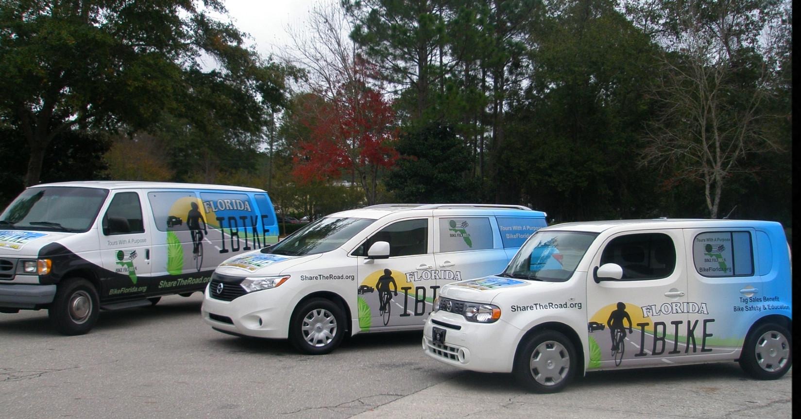 fleet graphics, partial vehicle wraps