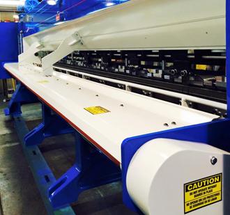 Blue Large Tufting Machine