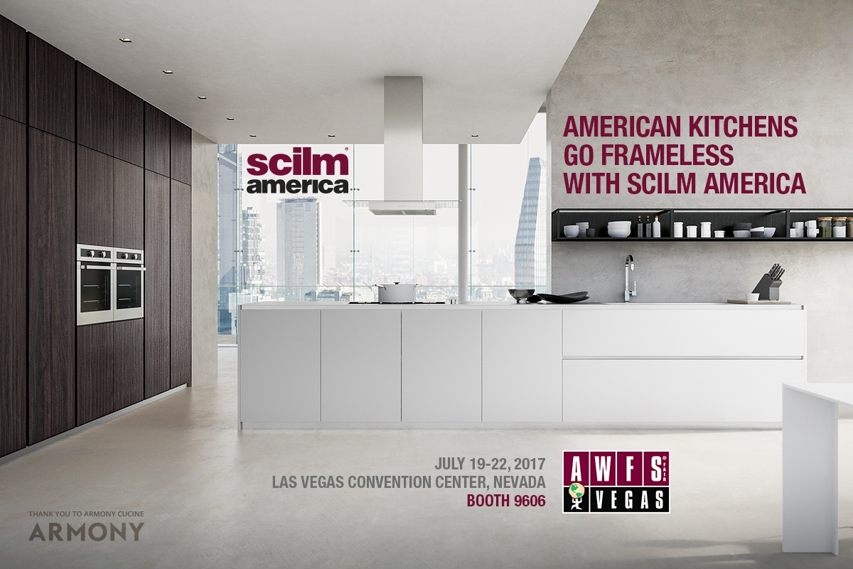 american kitchens go frameless with Scilm America