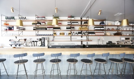 WeHo Restaurant - Lighting & Furniture