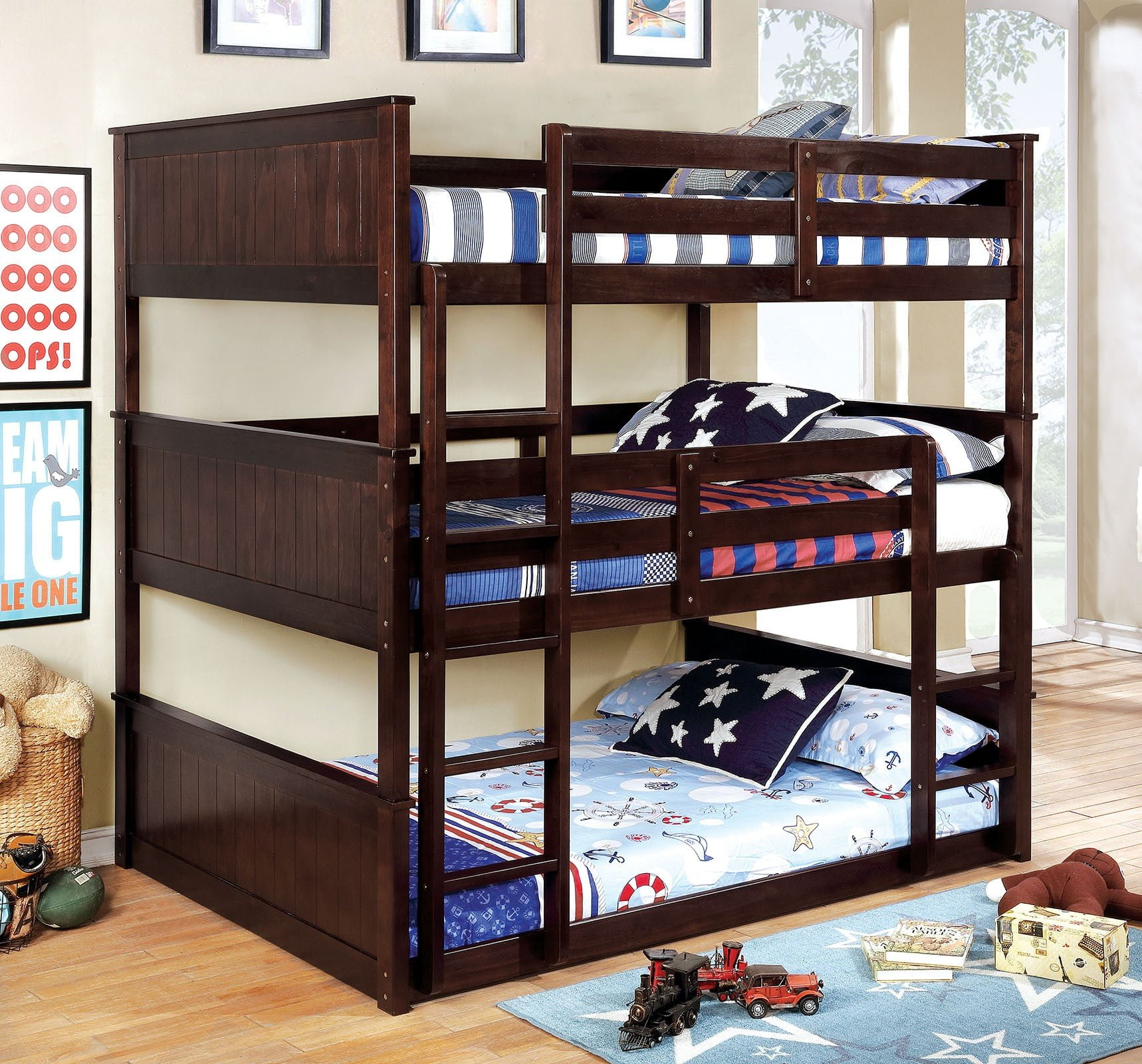 Therese Bunk Bed (P.O CM-BK628)
