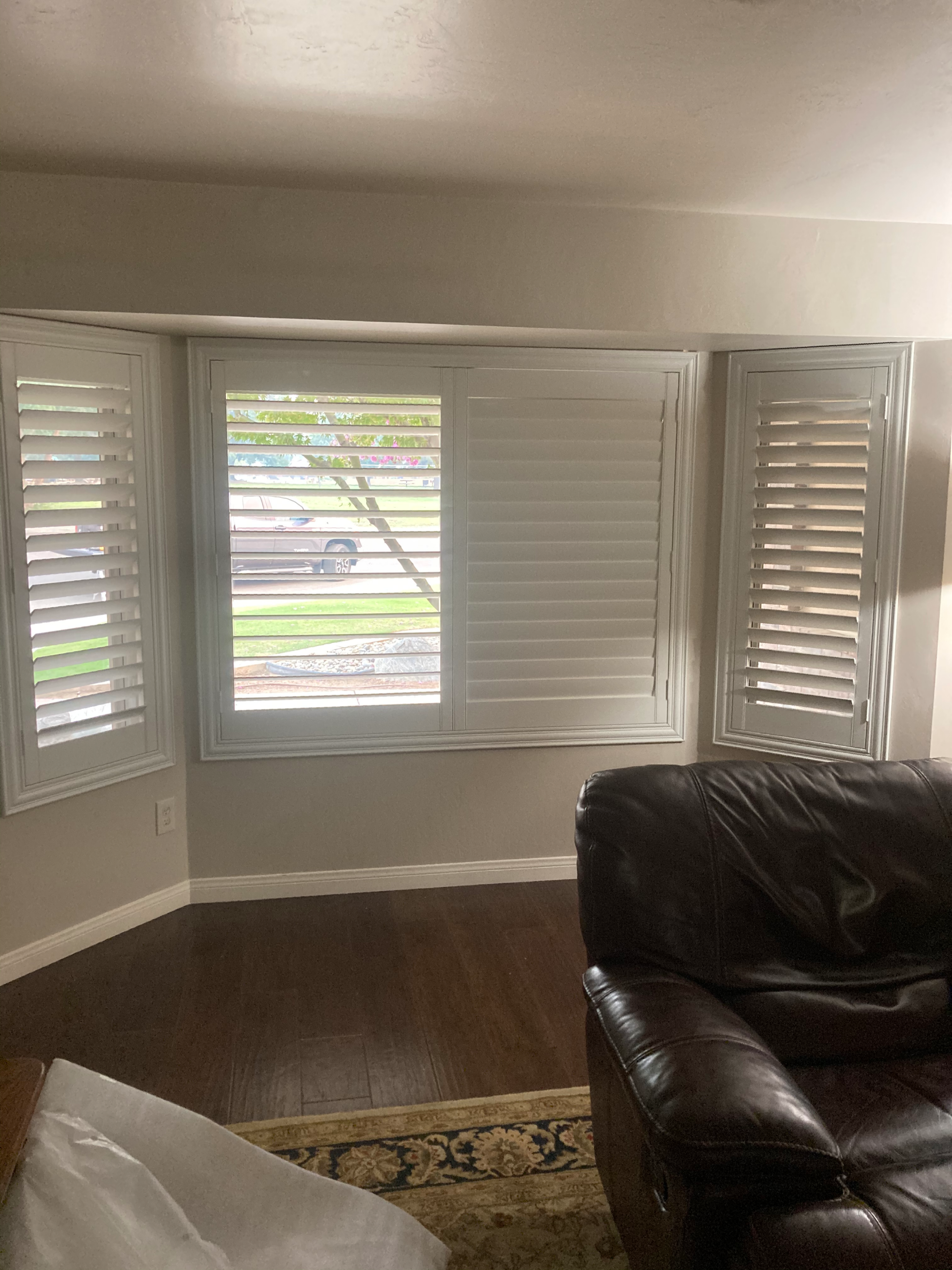 After Zero Clearance Application of a Shutter Install