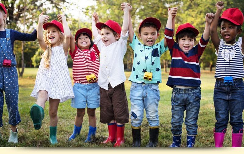 Children Posing for Photo