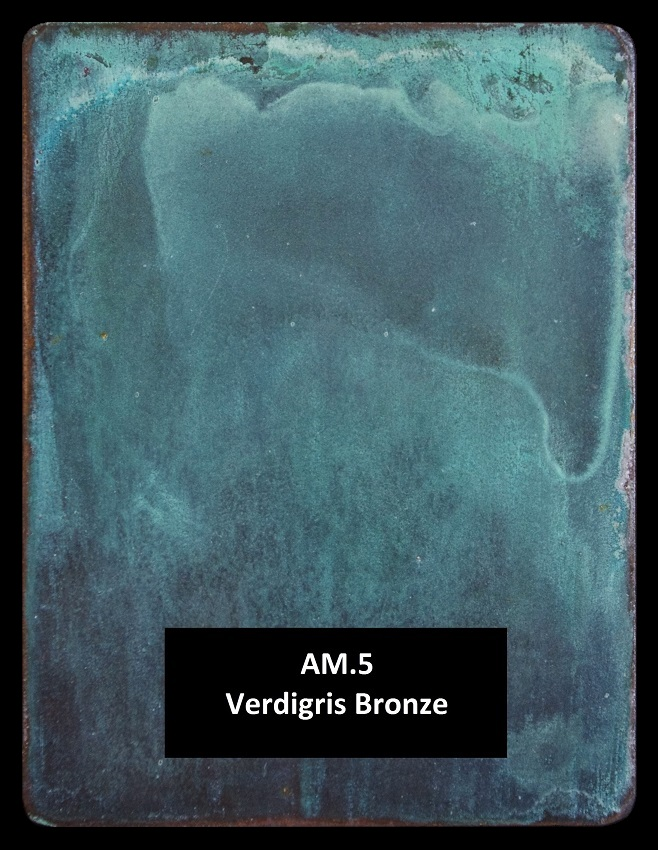 Metal finishes - metal coating AM.5 Verdigris