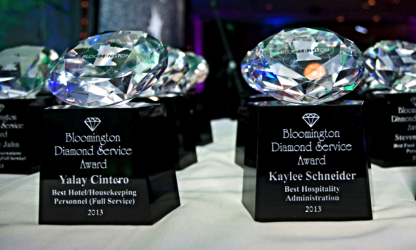 "Bloomington MN ""Home of Mall of America"" Diamond Service Awards presented 2014"