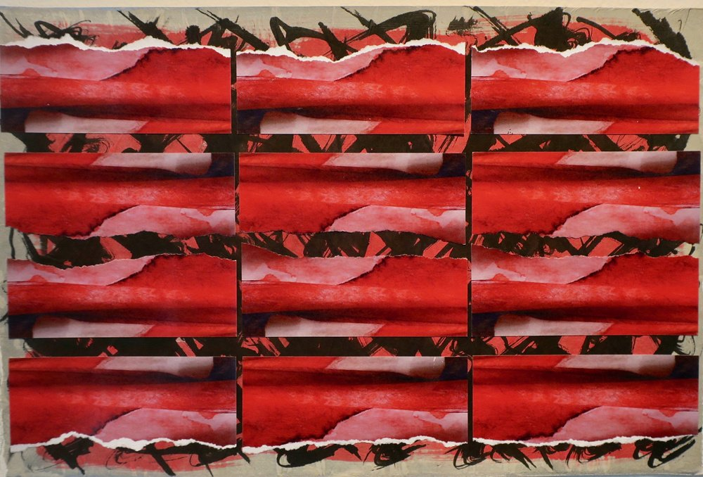 red waves 19 x 12