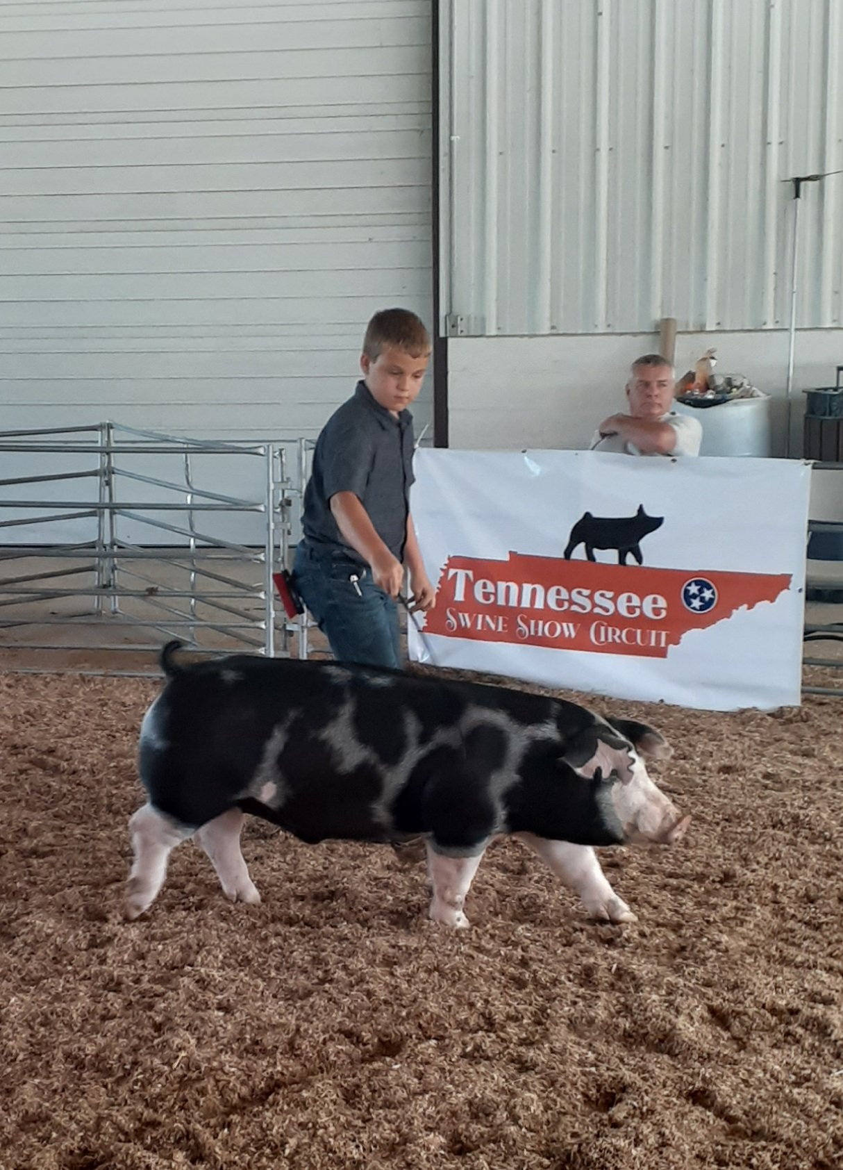 Declan Lusk Smith County Swine Shootout Champion Spot Barrow