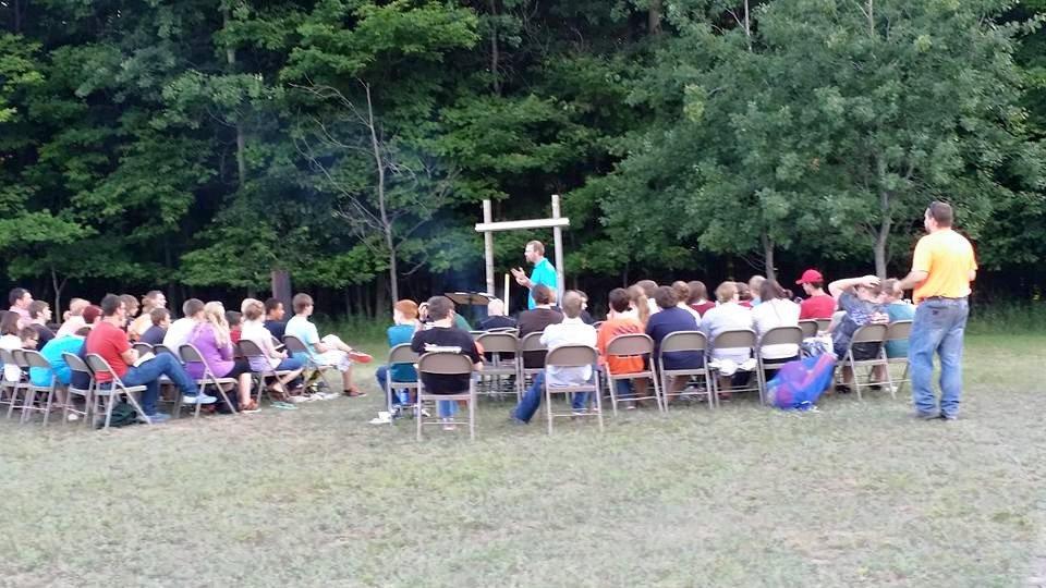Teen Activity at Echoing Hills Bible Camp