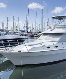 Docked Yacht