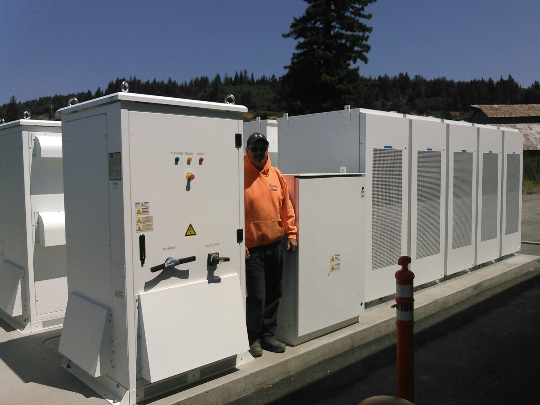 microgrid at Blue Lake Ranceria