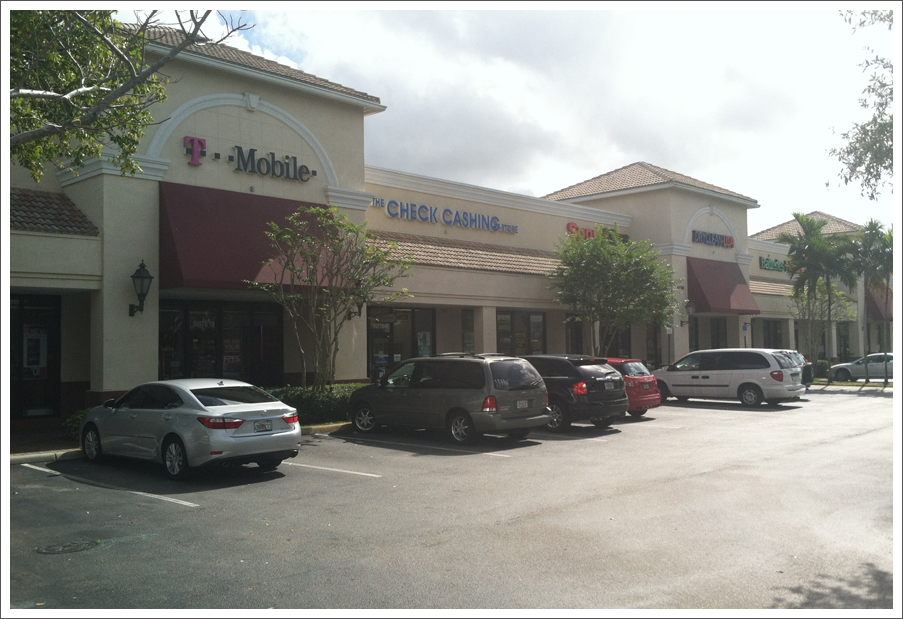 Retail center coral springs||||