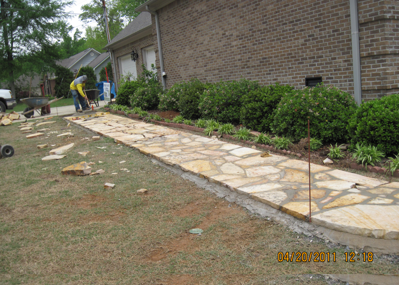 Sidewalk Landscaping||||
