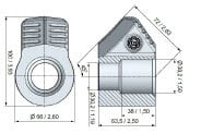 Modelo B43H Portadiente BETECK