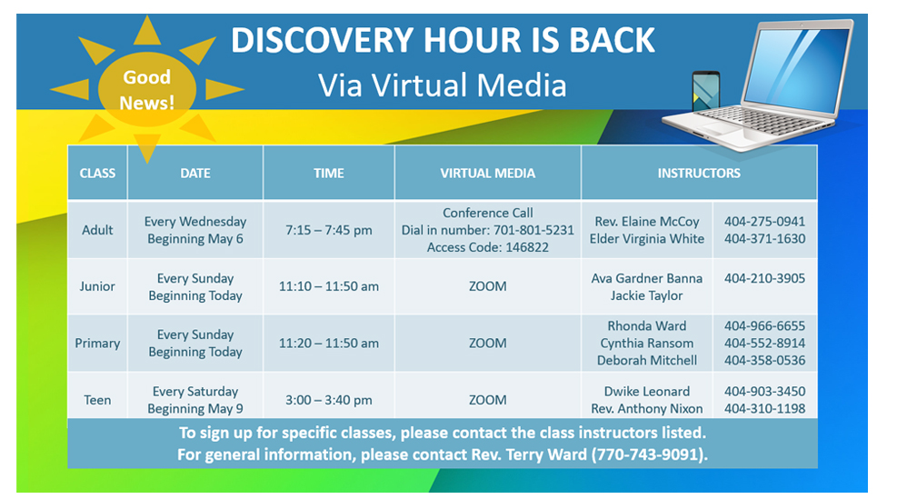 Discovery Hour