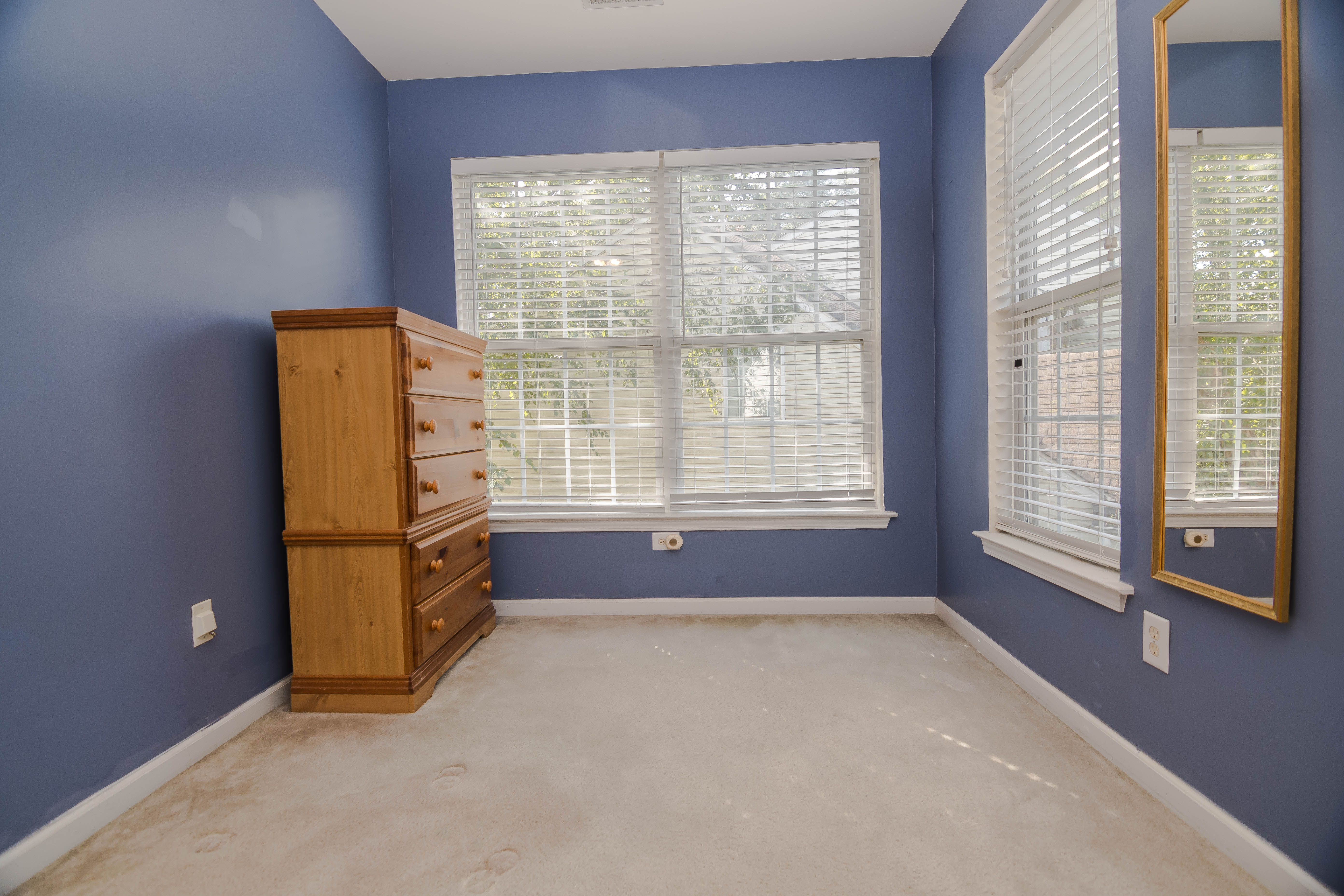 Master Bed Sitting Area - Virtual Staging  Before