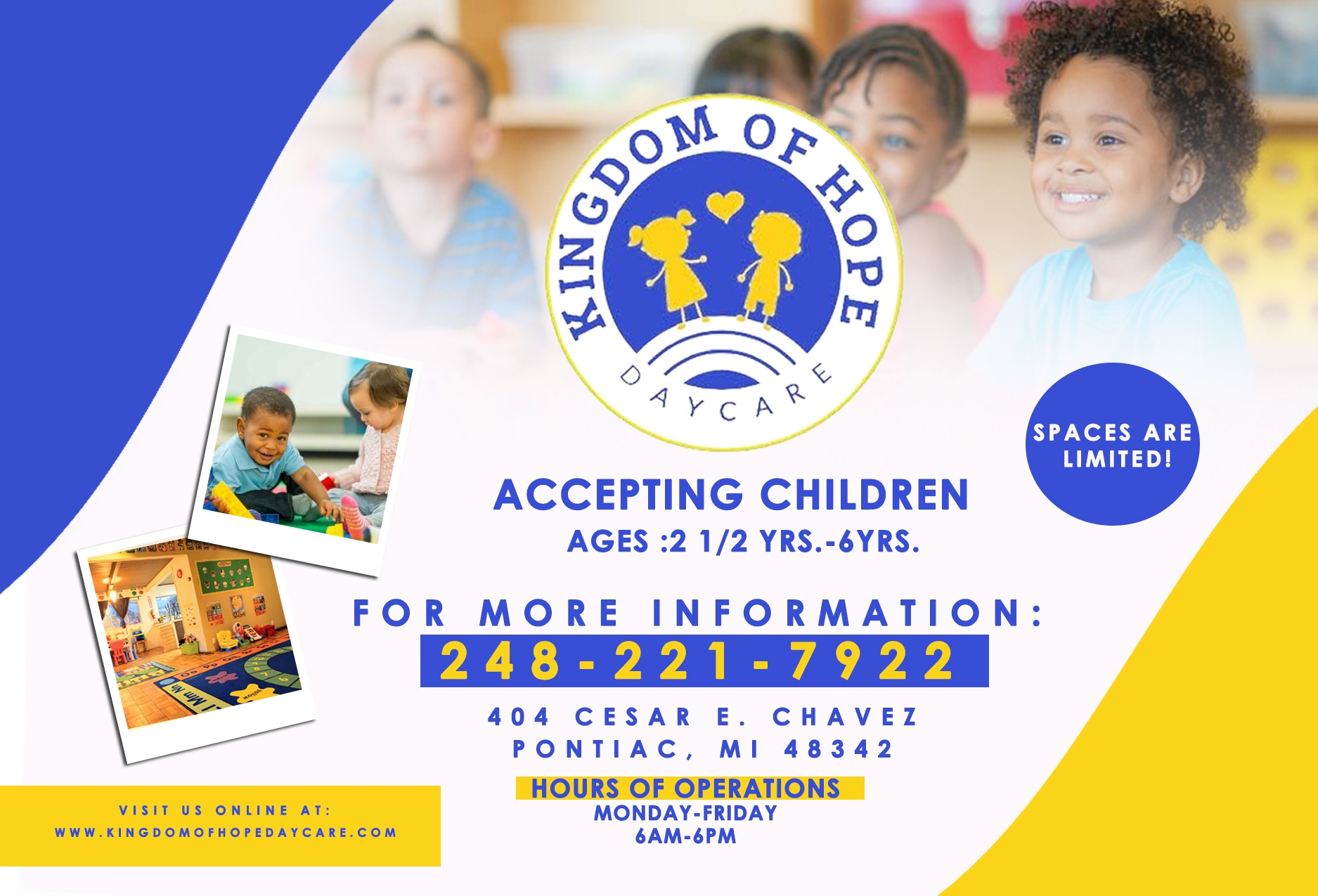 Kingdom of Hope Daycare Flyer 2