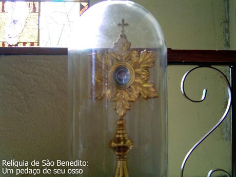 Relíquia de São Benedito, guardada em local seguro
