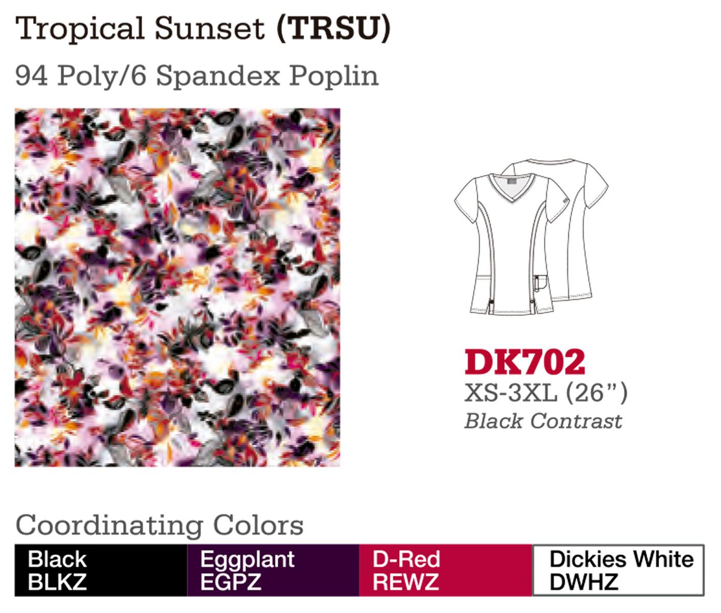 Tropical Sunset. DK702.