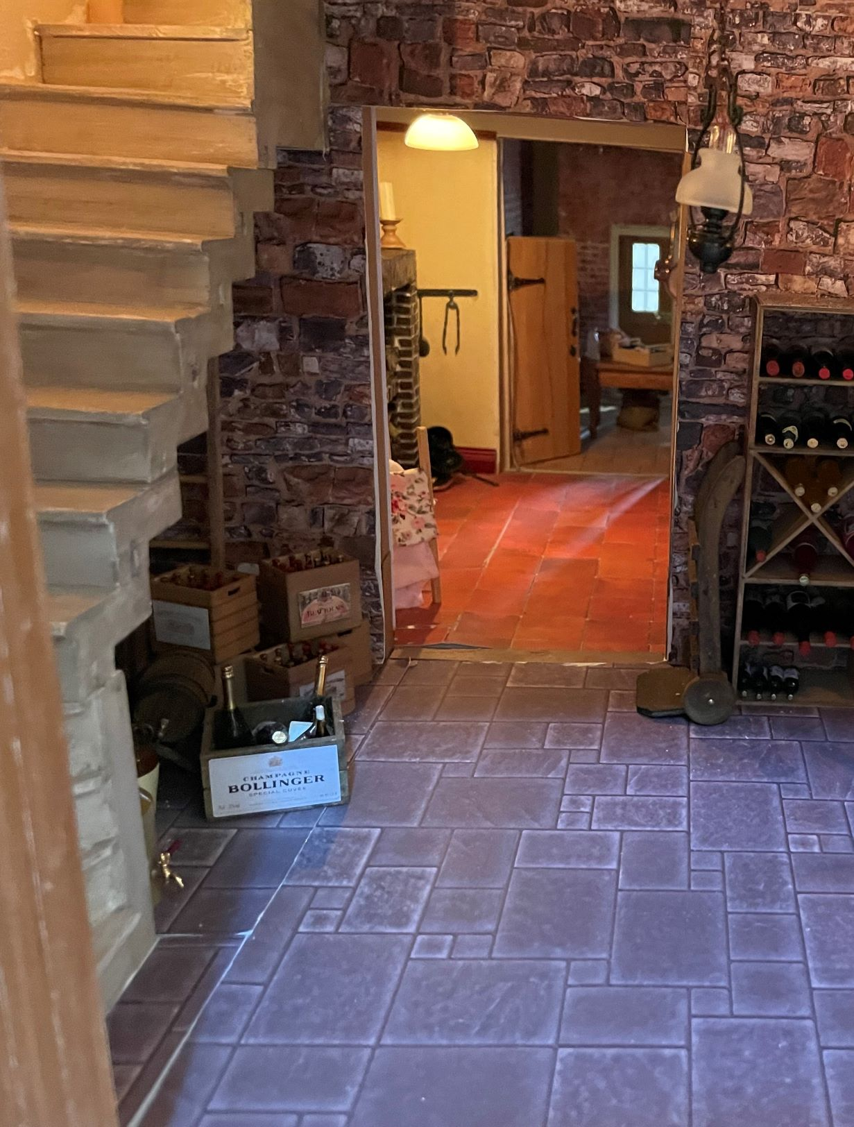 Ground Floor Rooms with  Passage to Kitchen