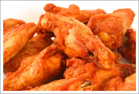Hot chicken wings||||