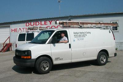 Dudley's Service Van