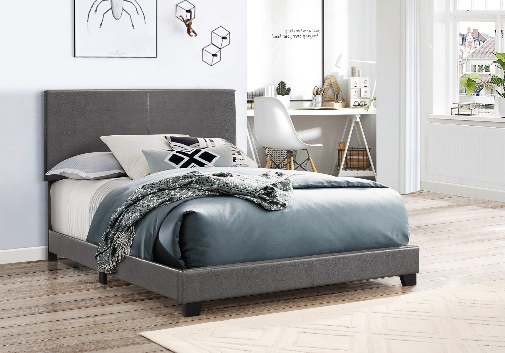 5271GYPU Erin Bed Grey