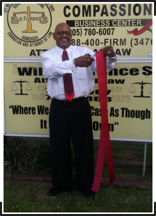 Attorney, Willie Florence Sr. Cutting The Red Tape