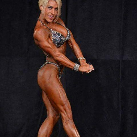 Jeannea Burritt Flexing