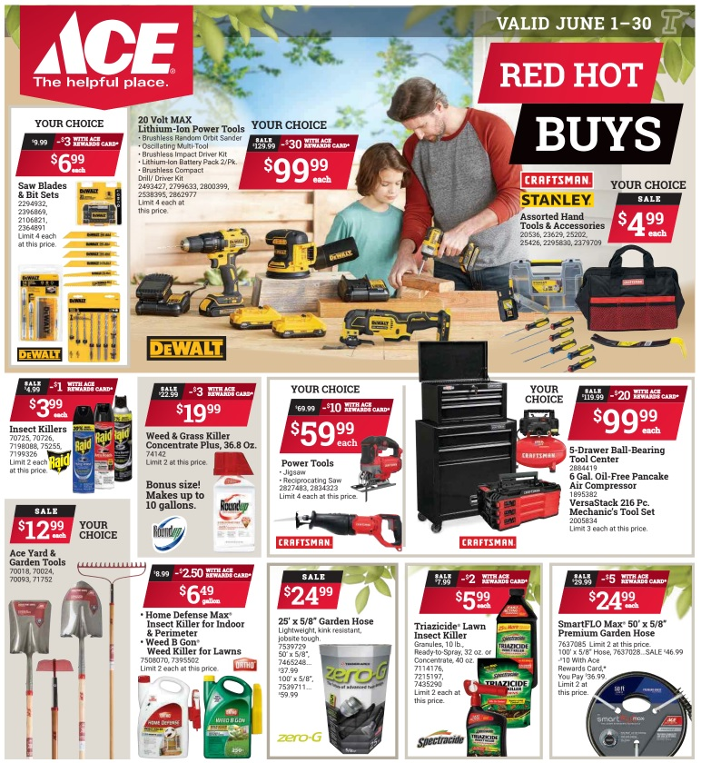 June Red Hot Buys