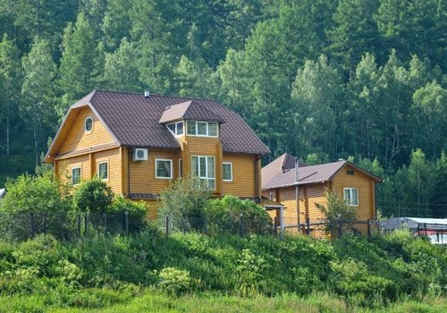 Beautiful Wooden House Near the Forest