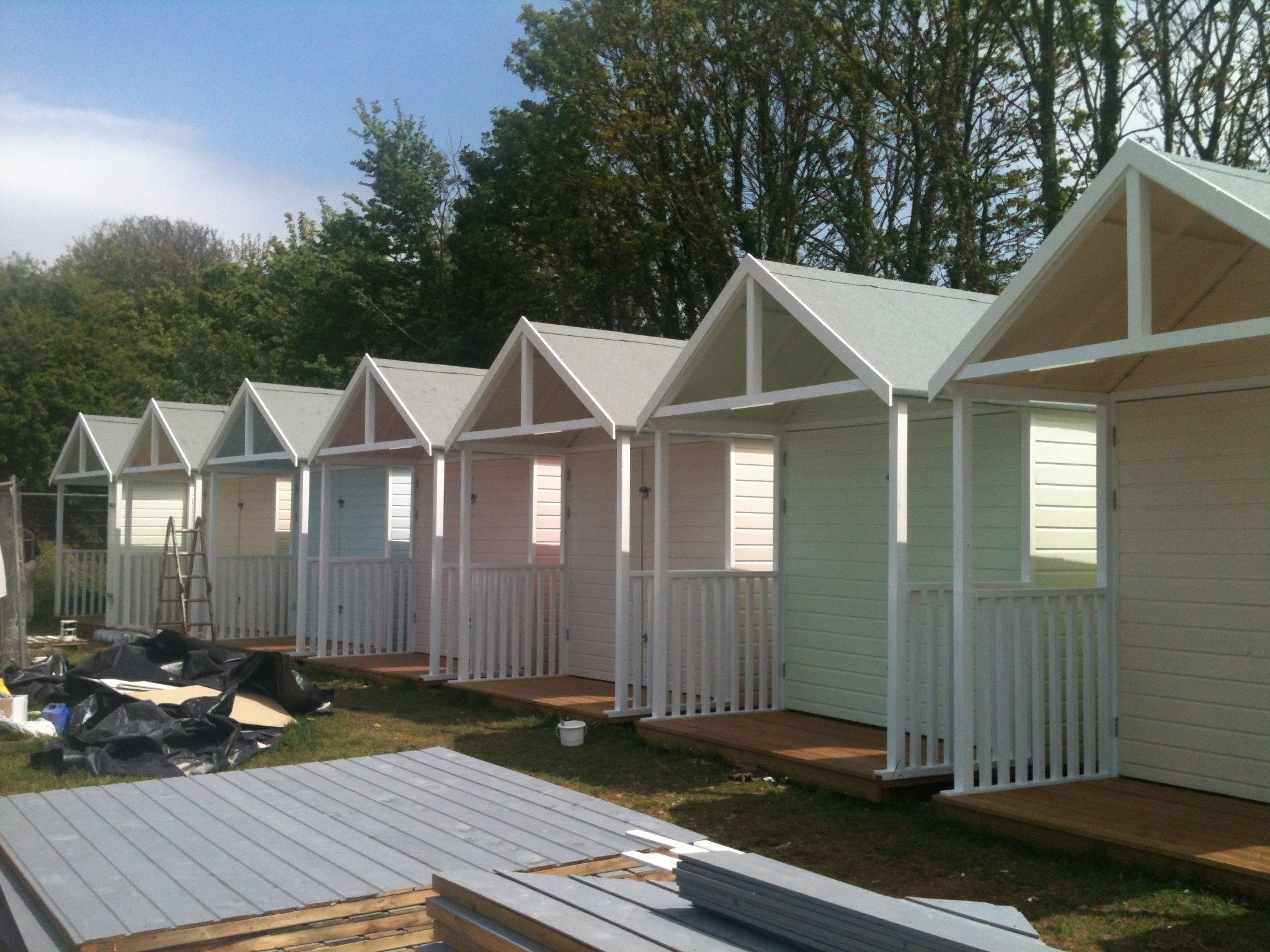 Design & Build Beach Huts