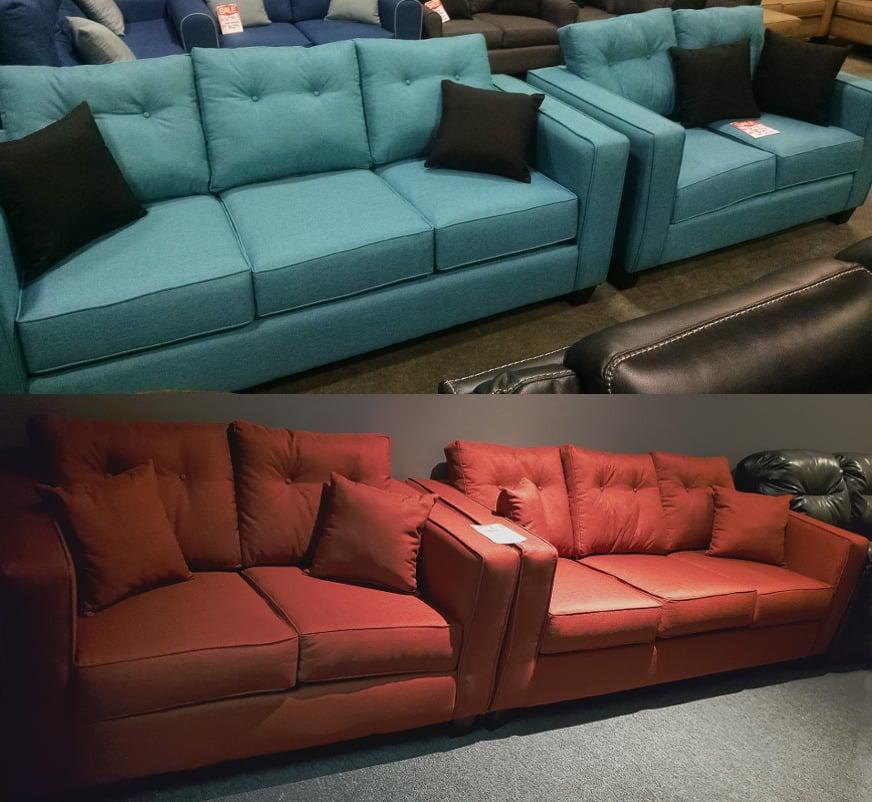 1500 Sofa and Loveseat Set
