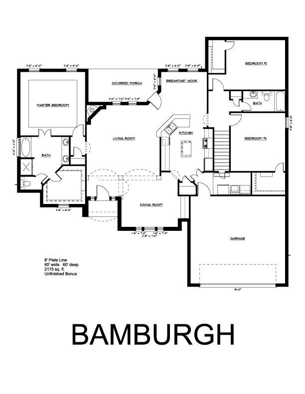 King Homes Bamburge Plan