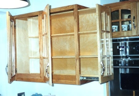 Slide Out Wall Cabinet