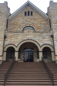 Church Front Entrance