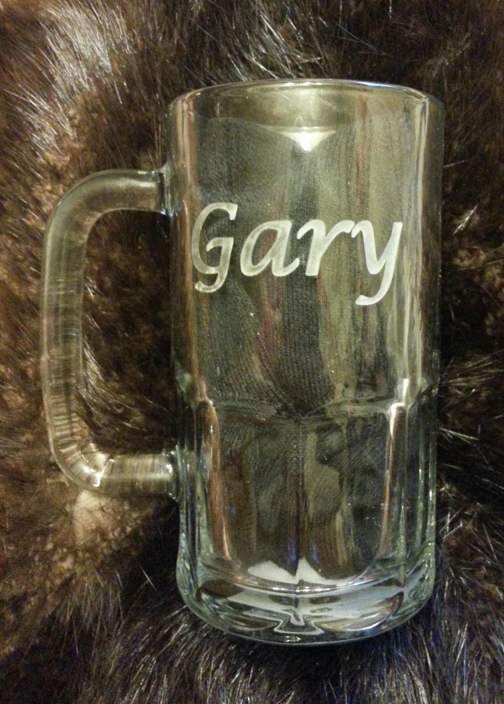 Personalized beer mug... $45.00   Price includes the mug...