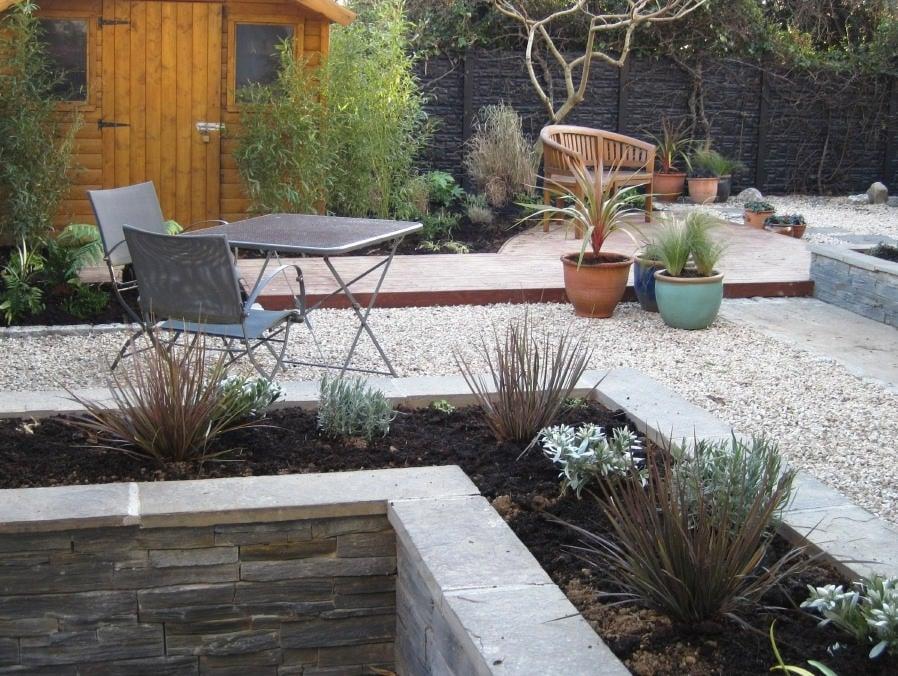 Town Garden with no Lawn! In Greystones