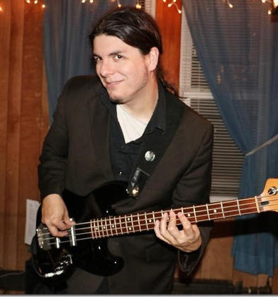 Justin Maxwell, bass player and vocalist extraordinaire (Photo by Lil Whitney)
