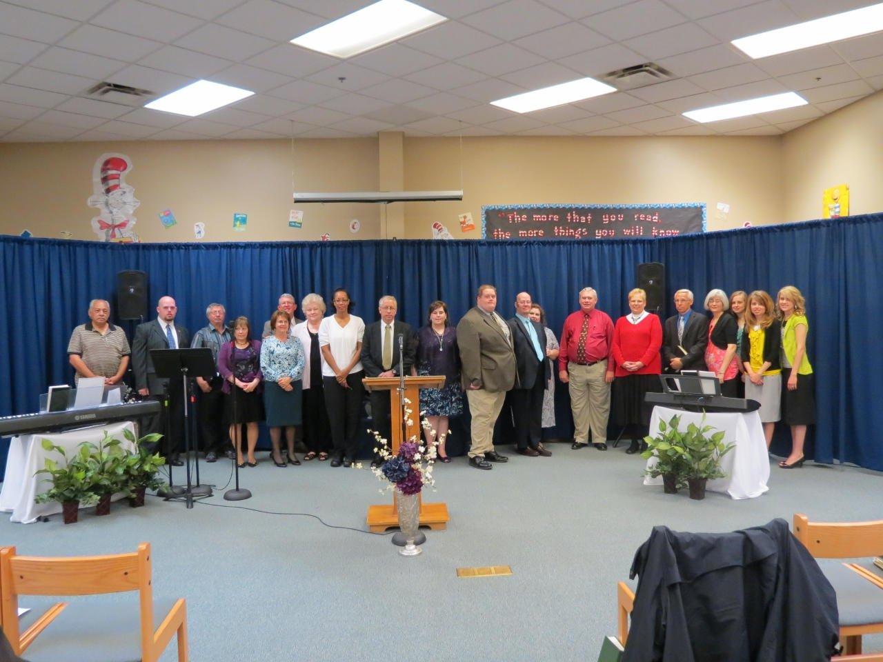 Twenty became Charter Members Sunday morning.