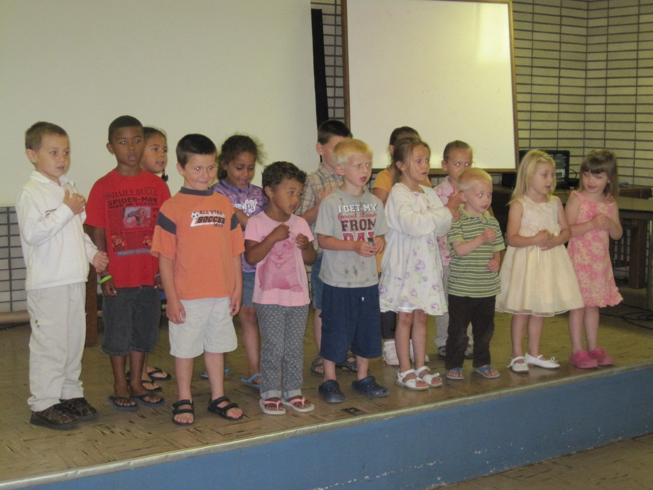 Children 3, 4,and 5  - Singing Special Music