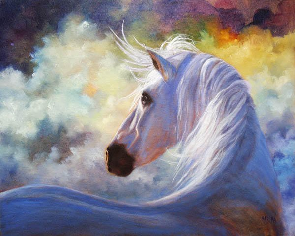 "Spirit 16"" x 20""  oil on canvas"