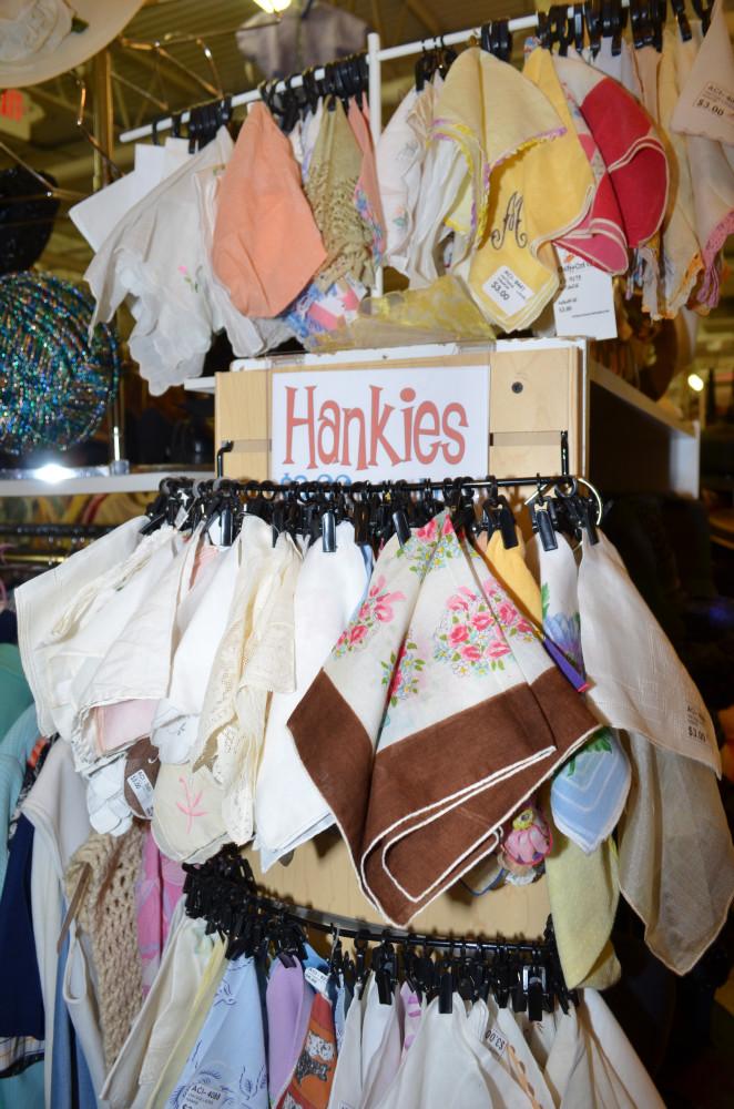Vintage Hankies & Scarves