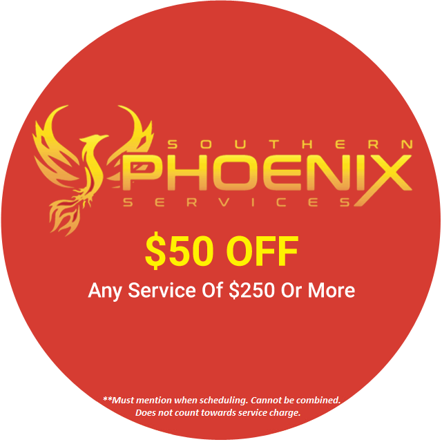 $50 OFF ANY SERVICE OF $250 OR MORE