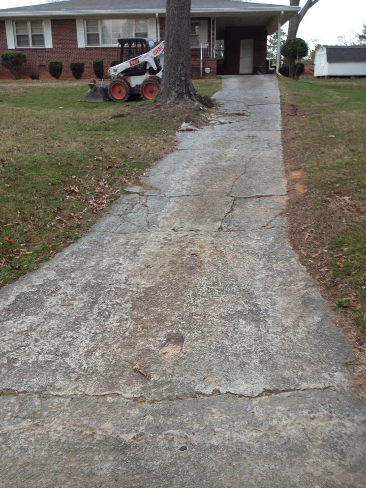 tired of that old driveway?