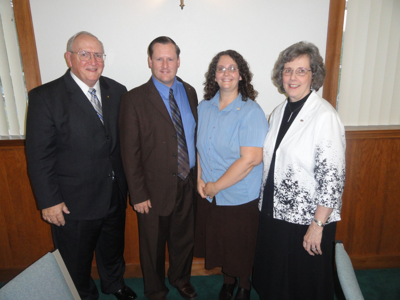 Mr. and Mrs. Bragg  Candidate School 2011
