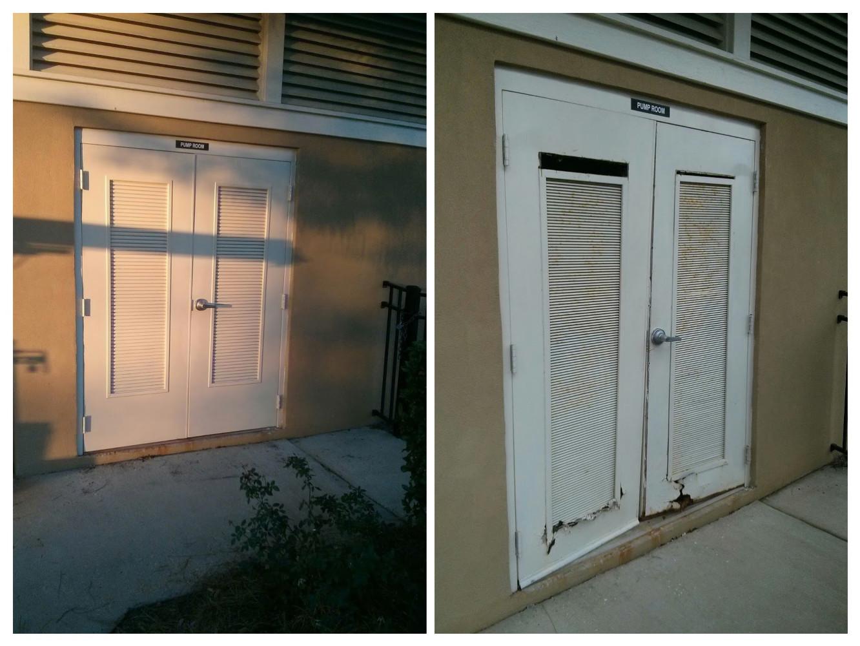 Steel Door Installation