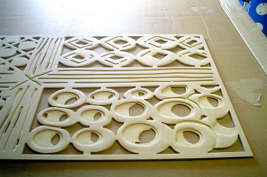 Custom Routed Door Panels