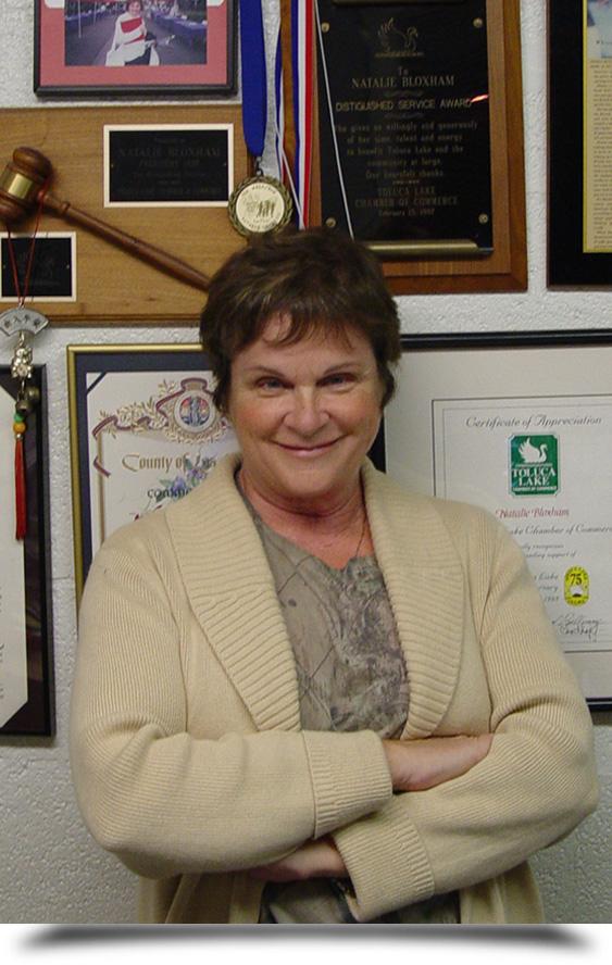 Natalie Bloxham Business Manager    