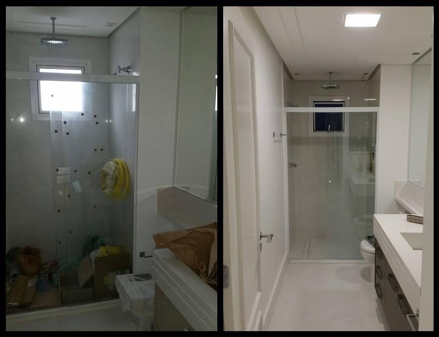 Banheiro Apartamento Panamby.