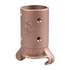 """Conectores de Bronce P/  Manguera de Abrasivo QR Manguera 1/2, 3/4, 1"""" y 1 1/4"""